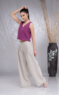 Linen Pants for Women, Wide Leg Pants Linen, Linen Palazzo Pants Women, Linen Trousers Women, Summer Linen Pants