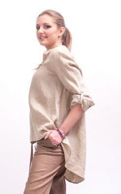 linen shirt women long sleeve linen blouse women, Womens linen top plus size clothing for women, Oversized shirt women