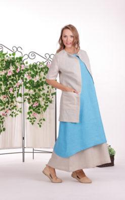 Linen Cardigan, Minimalist Cardigan, Linen Clothing For Women, Plus Size Linen, Pocket Cardigan, Simple Cardigan, Summer Cover Up