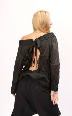 Black blouse women, Cotton top women, Oversized top women, Oversized shirt women