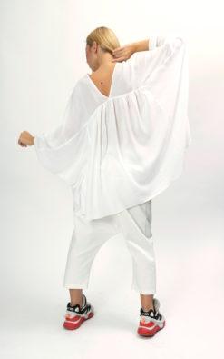 White blouse womens long sleeve shirt women, Womens top plus size clothing for women, Oversized shirt women