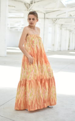 Boho Kaftan Dress