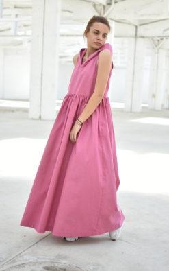 Hooded Oversized Dress
