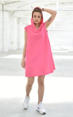 Hooded Petite Dress
