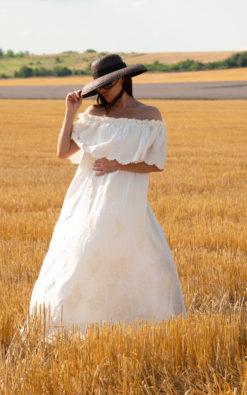 Maxi Off Shoulder Dress (1)