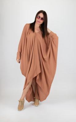 Nude Kaftan Dress / Kaftan dress / Kaftan maxi dress / Long kaftan dress / Summer Kaftan dress - KA0334CH